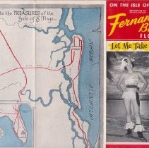 Image of On the Isle of 8 Flags, Historic Fernandina Beach, Florida  - Pamphlet