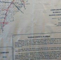 Image of 1929 Map of Amelia Island and Nassau County
