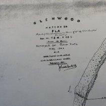 Image of 1911 Map of Glenwood Subdivision