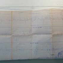 Image of Right of way map for County Road 105 - 1950 - Map