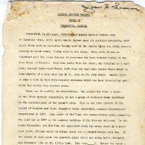 Image of Federal Writers Project Guide to Fernandina, Florida. - Manuscript