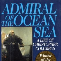 Image of Admiral of the Ocean Sea: A life of Christopher Columbus - Book