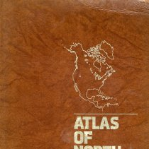 Image of Atlas of North America:  Space age portrait of a continent - Book