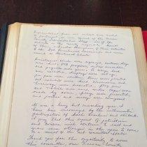 Image of Peggy Dennard Letter 2