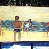 Image of American Beach mural - Print, Photographic
