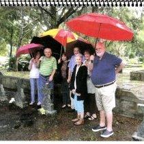Image of photo with umbrellas