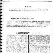 Image of V.J.M.J.