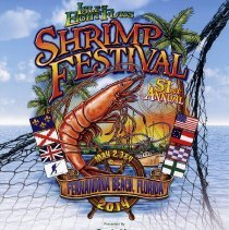 Image of 51st Annual Isle of Eight Flags Shrimp Festival - Poster