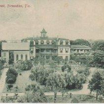 Image of St. Joseph's Convent, Fernandina, Fla. - Postcard, Picture