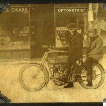 Image of Harley Davidson Motorcycle - Print, Photographic