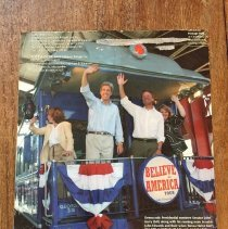 Image of Kerry Edwards Campaign Tour - Clipping