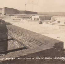 Image of The Ramp  Ft. Clinch State Park - Postcard, Picture