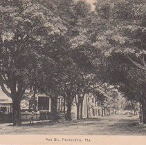 Image of Ash Street - Postcard, Picture