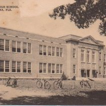 Image of Fernandina High School, Fernandina, Fla. - Postcard, Picture