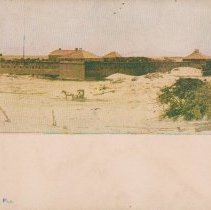 Image of Fort Clinch, Fernandina, Fla. - Postcard, Picture