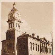Image of Nassau County Court House -- Fernandina, Fla. - Postcard, Picture