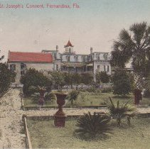 Image of Sisters St. Joseph's Convent, Fernandina, Fla. - Postcard, Picture