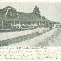 Image of Beach, Fernandina, Florida - Postcard, Picture