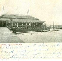 Image of Amelia Beach Casino, Fernandina, Fla. - Postcard, Picture