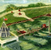Image of Florida Welcome Station - Painting