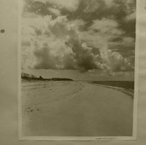 Image of Beach and clouds