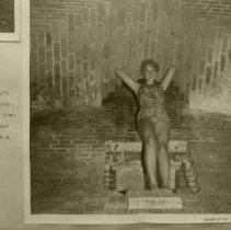 Image of Model Diana Morgan inside Fort Clinch