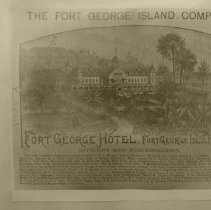 Image of Fort George Hotel advertisement