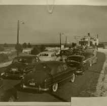Image of Ferry Jean lafitte loading line of cars