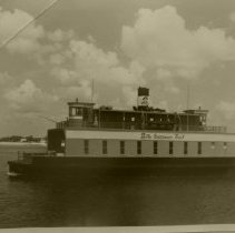 Image of Ferry boat side view