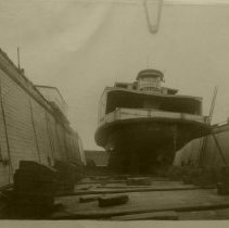 Image of Ferry Boat Reliance at ship yard