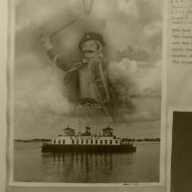 Image of Montage of pirate and ferry boat