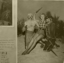 Image of Rodgers and Seitner as pirates with girl