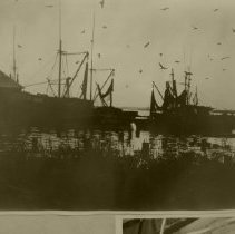 Image of Shrimp boat silhoutte