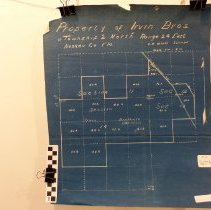 Image of Plat Survey of the lands of the Irvin Brothers - Map