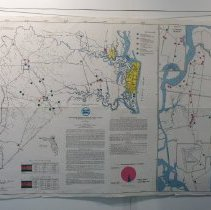 Image of St John's Water Management District Series 84.3 1982 - Map