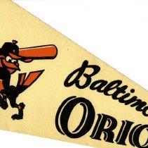 Image of Baltimore Orioles Pendant - Pendant