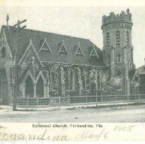 Image of St. Peters Episcopal Church, Fernandina, Fla. - Postcard, Picture