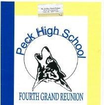 Image of Peck High School, Fourth Grand Reunion - Album, Photograph