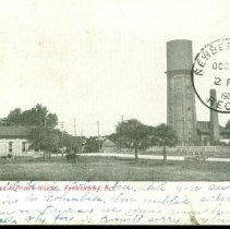 Image of Water Works Power House - Postcard, Picture