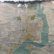 Image of 1936 Map of Jacksonville Florida.