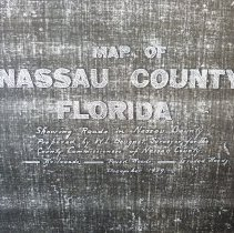 Image of 1929 Map of Nassau County, Florida