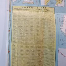 Image of 1950 Offical Road Map of Florida