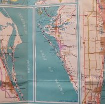 Image of 1969 Offical Road Map of Florida