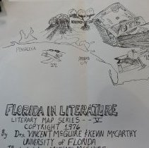 Image of 1976 Map of Florida in Literature