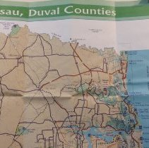 Image of 1999 Map  Bikeways of Northeast Florida