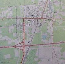 Image of 1964 Baldwin Quadrangle 7.5 minute Topographic Map