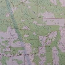 Image of 1981 Dinsmore Quadrangle 7.5 minute Topographic Map