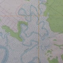 Image of 1981 Hedges Quadrangle 7.5 minute Topographic Map - Map