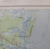 Map Of Jacksonville Georgia.1957 Jacksonville Fl Se Georgia Topographic Map Map