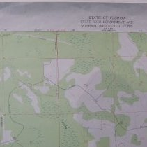 Image of 1976 Bryceville Quadrangle 7.5 minute Topographic Map